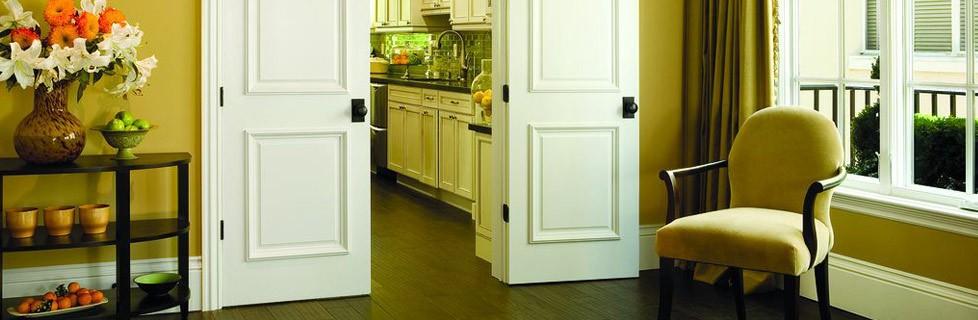 Interior Doors next to kitchen