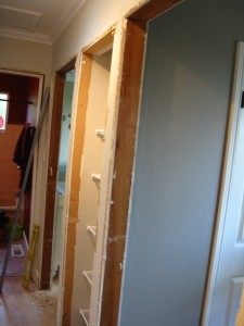 door frame removed