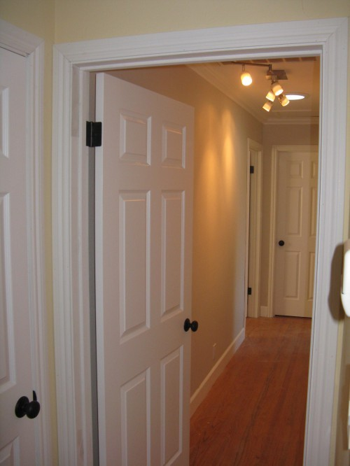 What does pre hung door how to install interior pre hung doors how tos diy my free bathroom for Hanging interior prehung doors