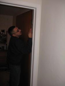 removing old interior door