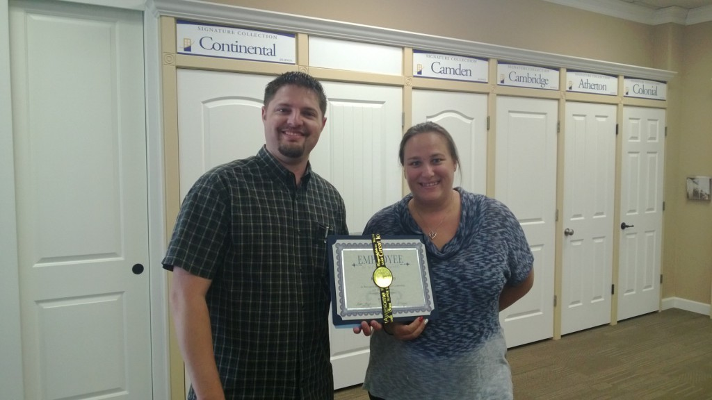 July-employee-of-the-month Kristine Niday
