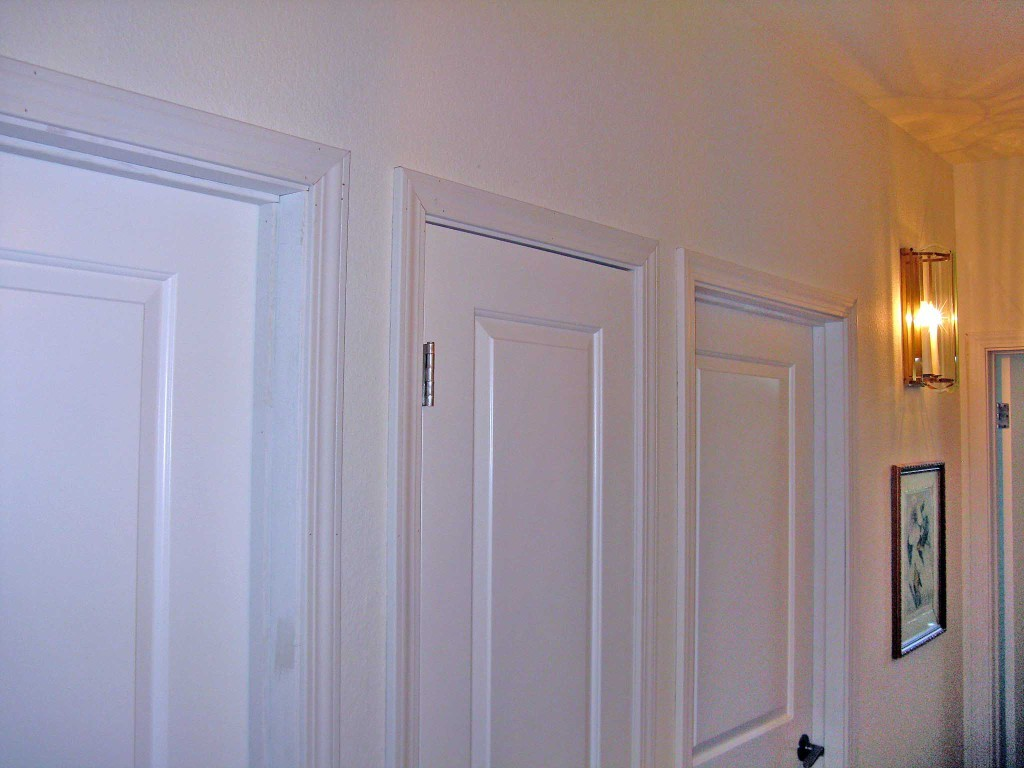 768 #7E411E 16 Prehung Doors Installed In Half Moon Bay wallpaper Prehung Entry Doors 43251024
