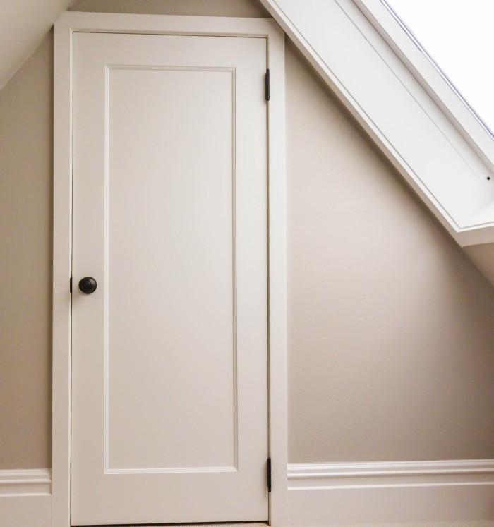 one-panel interior door