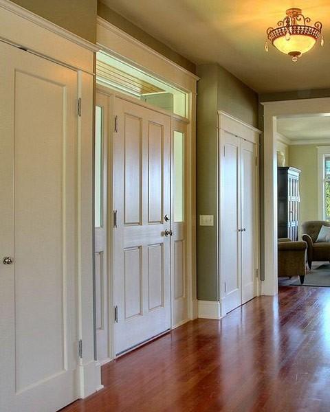 Hallway interior doors