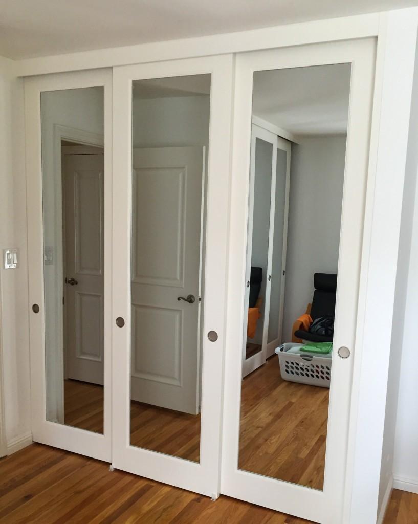 Mirror Reflections Closet Doors