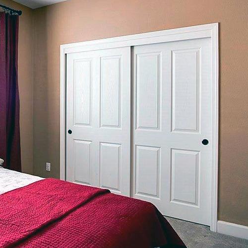 Four Panel Sliding Closet Doors - Interior Door Replacement Company