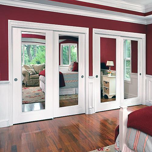 Mirror Reflections Closet Doors - Interior Door Replacement Company