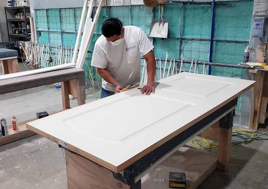 Door Sanding - Interior Door Replacement Company
